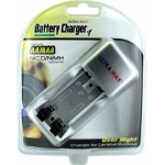 Battery Charger & Batteries for OvaView Candling Lamp