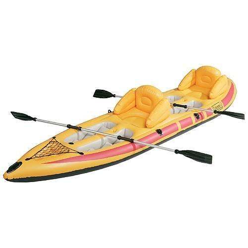 Inflatable kayak coleman for Sevylor coleman colorado 2 person fishing kayak