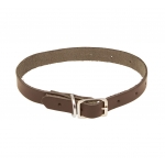 Leather Ferret Collar for Locator Collars.