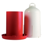 12 Litre Double Barrell Drinker
