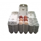 Egg Cartons, End Opening Fibre Egg Boxes. 462 x 6 egg boxes.