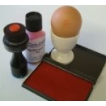 Single Egg Stamping Kit with Producer Number.