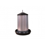 18 Kg Galvanised Poultry Feeder With Cover