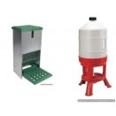 20 Kg Treadle Feeder & 30 Litre Drinker Combo