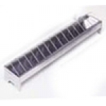 Galvanised Chick Feeder 40 Cm with Grilled Top