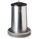 40 Kg Galvanised Tube Feeder for Chickens & Turkeys