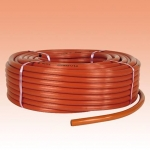 Gas Hose. Low Pressure. 9mm x 60 metre Roll.