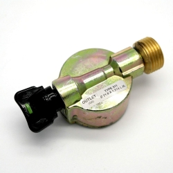 27mm Clip-On Adaptor for HP Hose. Caravan / Camper.
