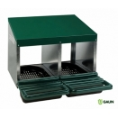 2 Compartment Rollaway Nesting Boxes.