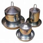 Galvanised & Stainless Steel Metal Poultry Drinkers