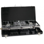 Go Gas Dynasty Trio Cooker. Double Burner & Grill.