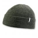 Mens Green Pomless Watch Hat