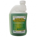 Poultry Mite Rescue Remedy. 500ml