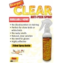 Scarper Anti Peck Spray Clear. 250ml.