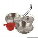 Aluminium 1 Person Cookset.