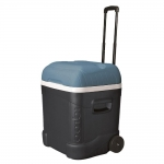 Maxcold Ice Cube 70 Roller Coolbox - Grey/Blue