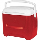 Igloo Island Breeze 28 Qt Cooler. Red.