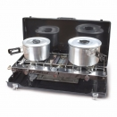 Kampa Alfresco Double Gas Burner & Grill