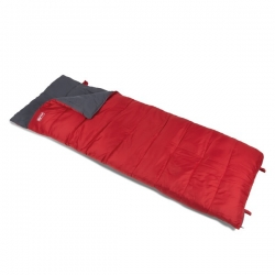 Kampa Annecy Sleeping Bag. Red. 2 Season.