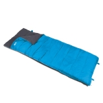 Kampa Annecy Sleeping Bag. Blue. 2 Season.