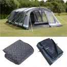 Kampa Croyde 6 Air Tent. 2020 Package. (Inc: Carpet + Footprint).