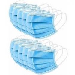 10 pack of Disposable Non Medical Face Mask with Loops.