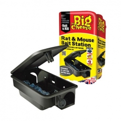 Rat & Mouse Bait Station. Lockable.