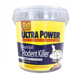 Big Cheese Ultra Power Block Bait Rodent Killer.15 X 20G