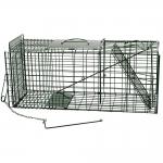 Folding Green Mink Cage Trap. Heavy Gauge.