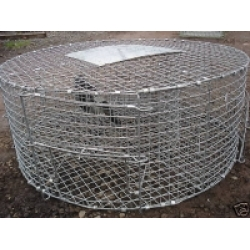 Grey Crow Cage Trap. Flat Packed. no stock until october