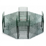 Green Octagonal Magpie Cage Trap.