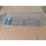 Heavy Duty Mink Cage Trap With Bait Tray.
