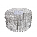 Grey Crow Cage Trap. Heavy Duty 4 Compartment.