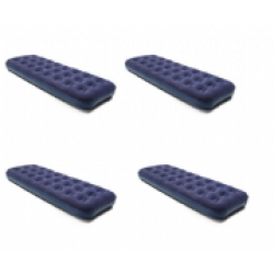 4 x Deluxe Single Flocked Airbeds.
