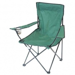 Camping Chair with Drinks Holder.