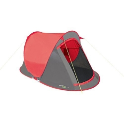 2 Man Pop Up Tent. Red
