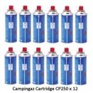 Campingaz Cp250 Gas 12 Pack.