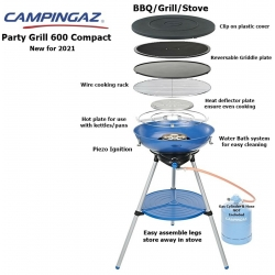 Campingaz Party Grill 600 COMPACT. Camping Portable Gas BBQ
