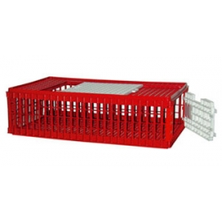 Poultry & Gamebird Carrying Crate. 2 Door.