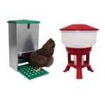 20 Kg Treadle Feeder & 30 Litre Drinker Combo.