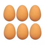 Dummy Rubber Nest Eggs. 6 Pack