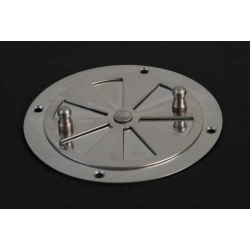 Air rosette for incubators, stainless steel, 85mm
