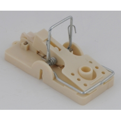 Plastic Mouse Trap with Metal Spring.