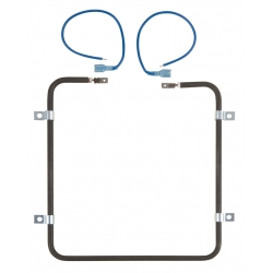 Steel heating element, square, 100W