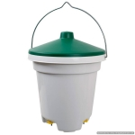 Nipple Bucket Drinker for Poultry. 12 Litre