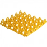 Plastic Egg Tray to hold 20 Large Eggs.