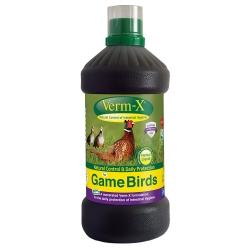 Verm-x for Game Birds. 1 Litre