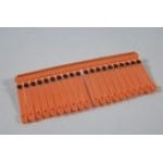 Numbered Plastic Wing Tags. 100 pack