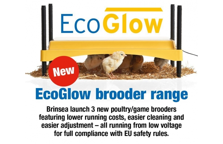 New Range of Brinsea EcoGlow Brooders.